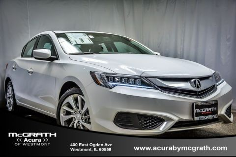 New 2017 Acura ILX with Technology Plus Package With Navigation