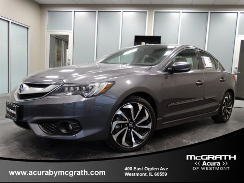 Certified Used Acura ILX with Premium and A-SPEC Package
