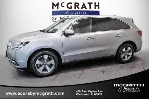 Used Acura MDX w/AcuraWatch Plus