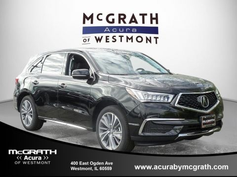 New 2017 Acura MDX w/Technology/Entertainment Pkg With Navigation