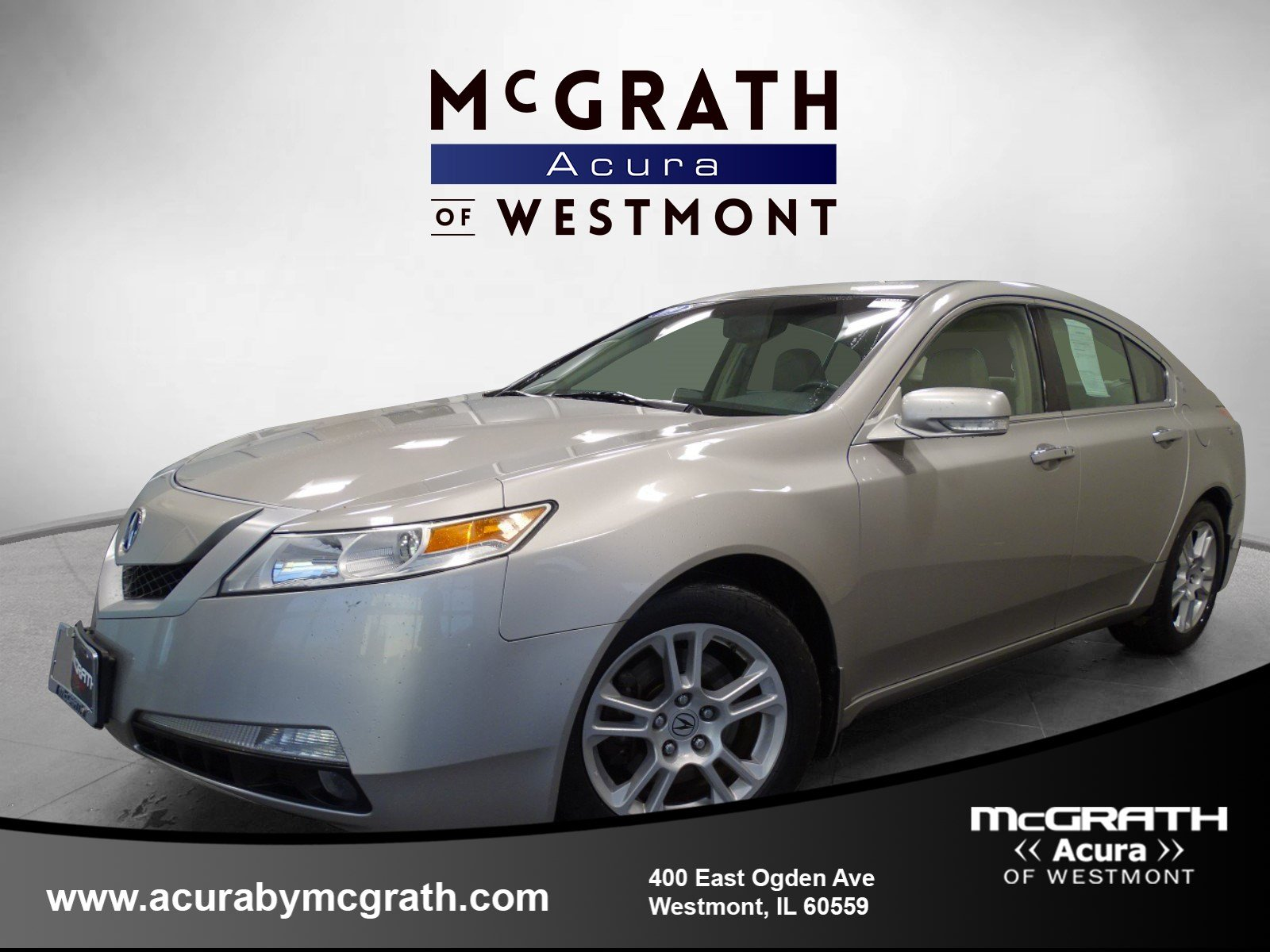 Pre Owned 2009 Acura TL Tech 4dr Car in Westmont W8302A