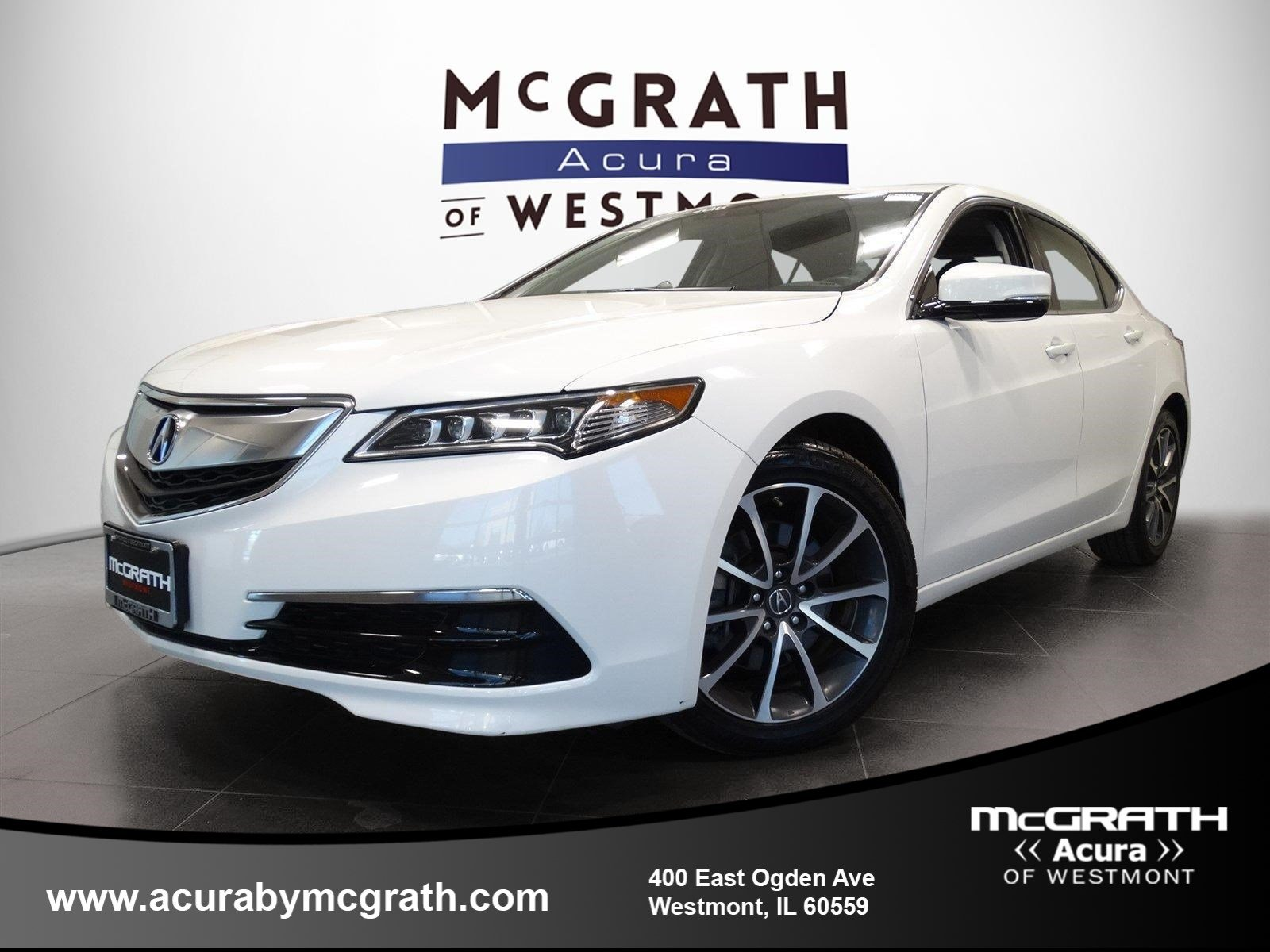 Pre-Owned 2016 Acura TLX V6 Tech 4dr Car in Westmont #PB8783 ... on