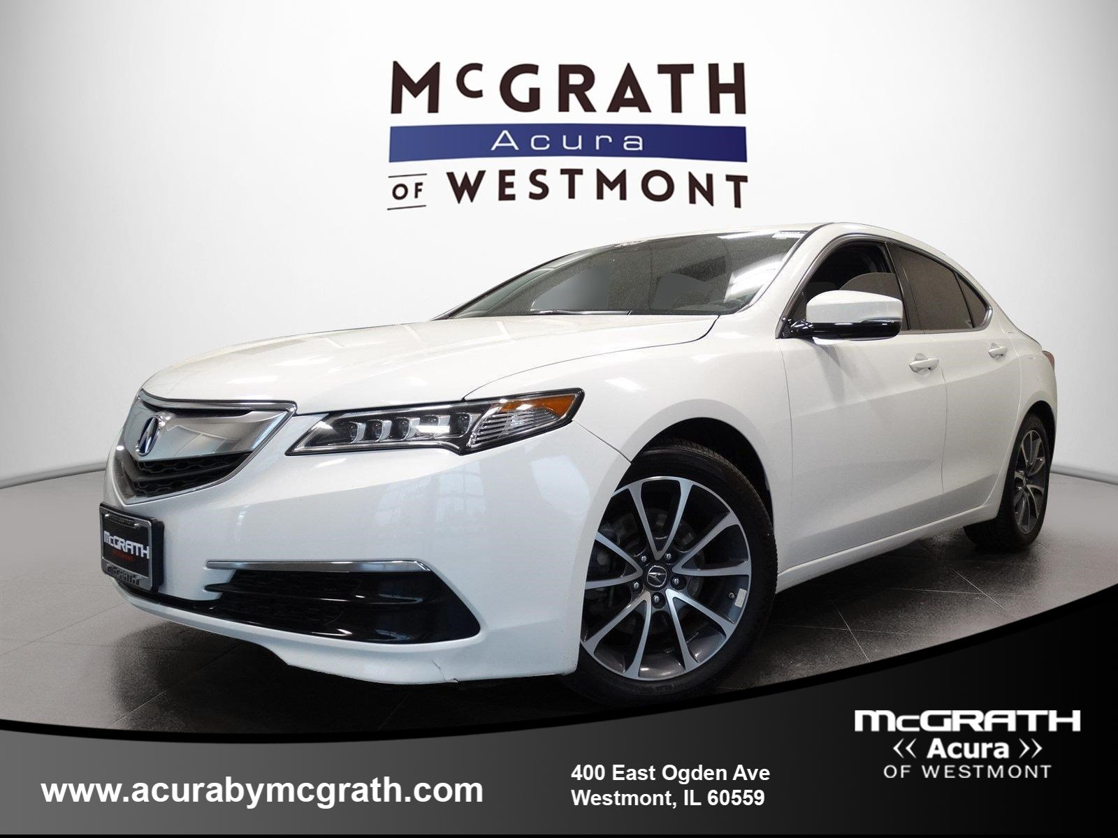 PreOwned Acura TLX V WTechnology Pkg Dr Car In Westmont - 2018 acura tsx grill replacement