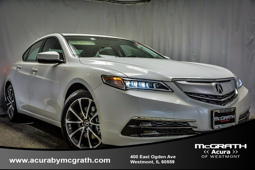 Certified Pre Owned 2017 Acura Tlx 3 5 V 6 9 At Sh