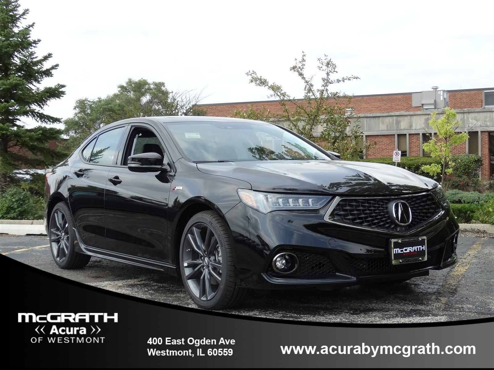 New 2019 Acura TLX 3 5 V 6 9 AT SH AWD with A SPEC 4dr Car in