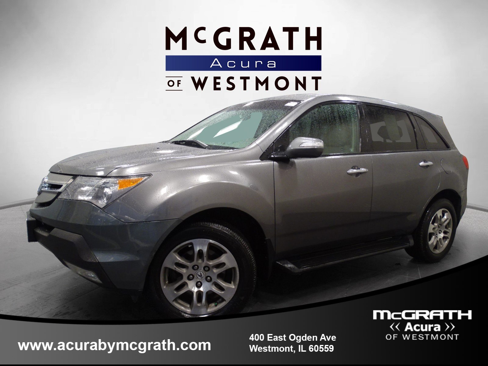 pre owned 2008 acura mdx 3 7l sport utility in westmont pb9162a rh acurabymcgrath com