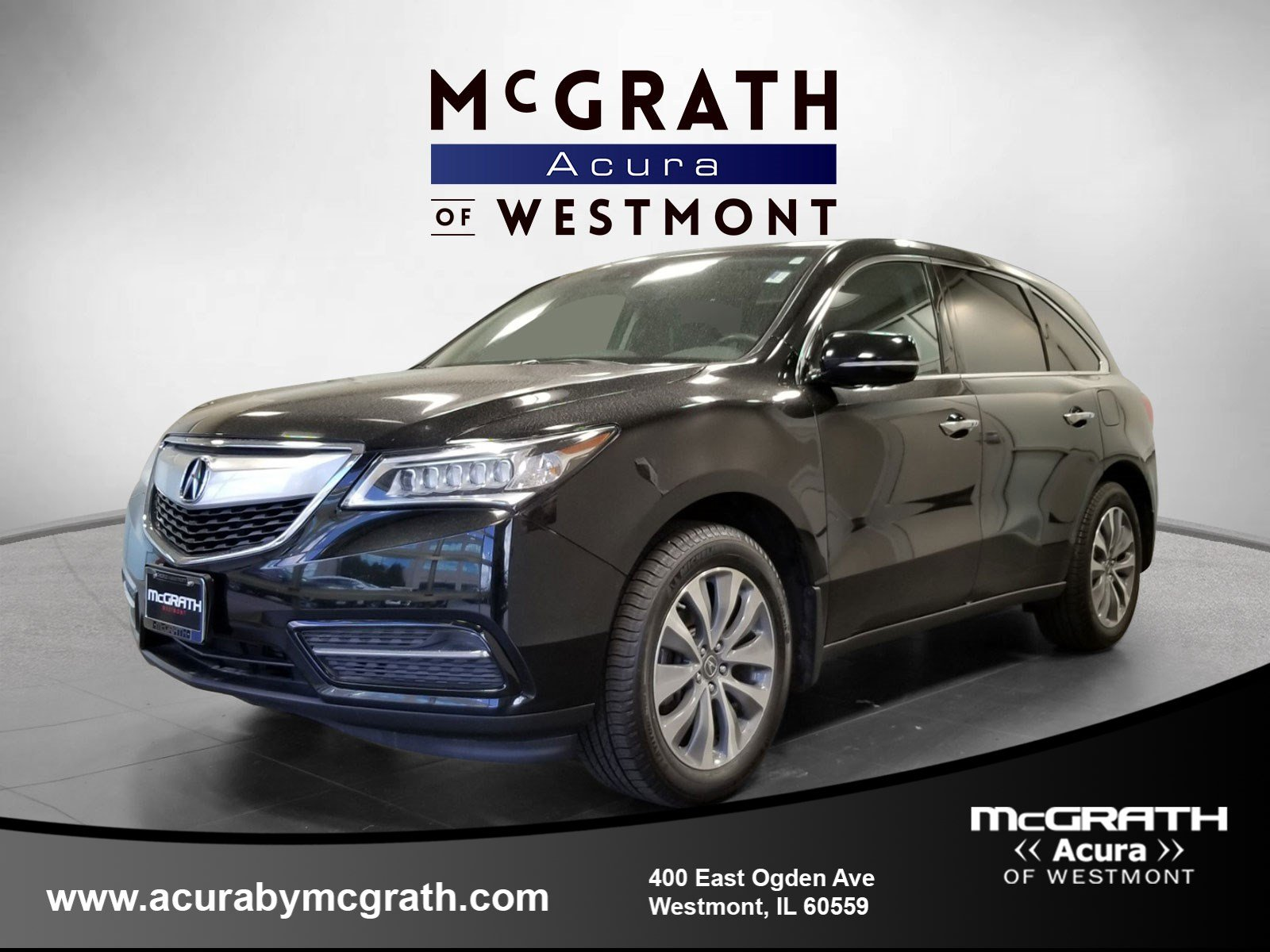 Pre Owned 2016 Acura Mdx W Tech Entertainment Acurawatch Plu