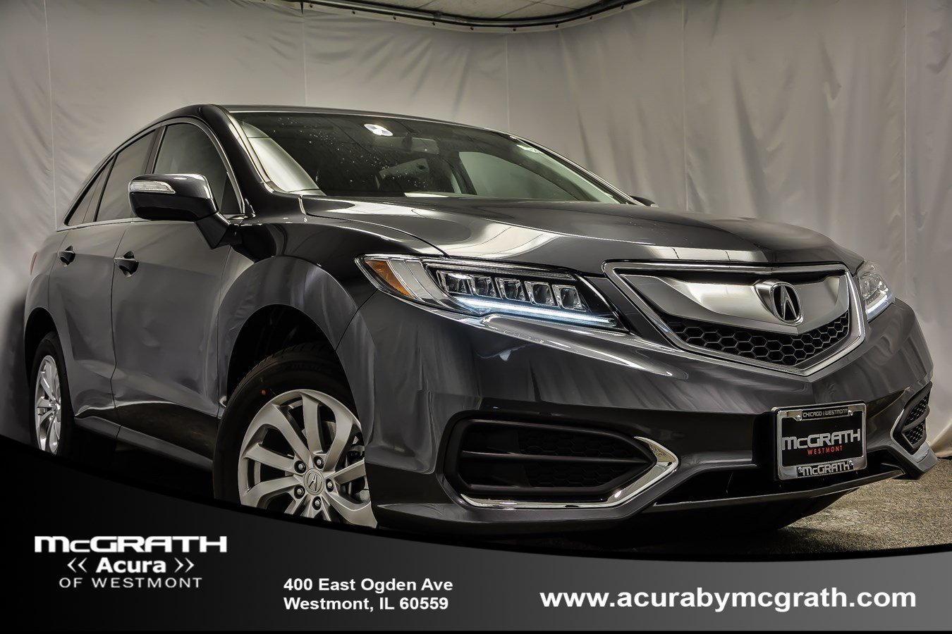 New 2017 Acura RDX Base Sport Utility in Westmont #U6142 | McGrath Acura Westmont on