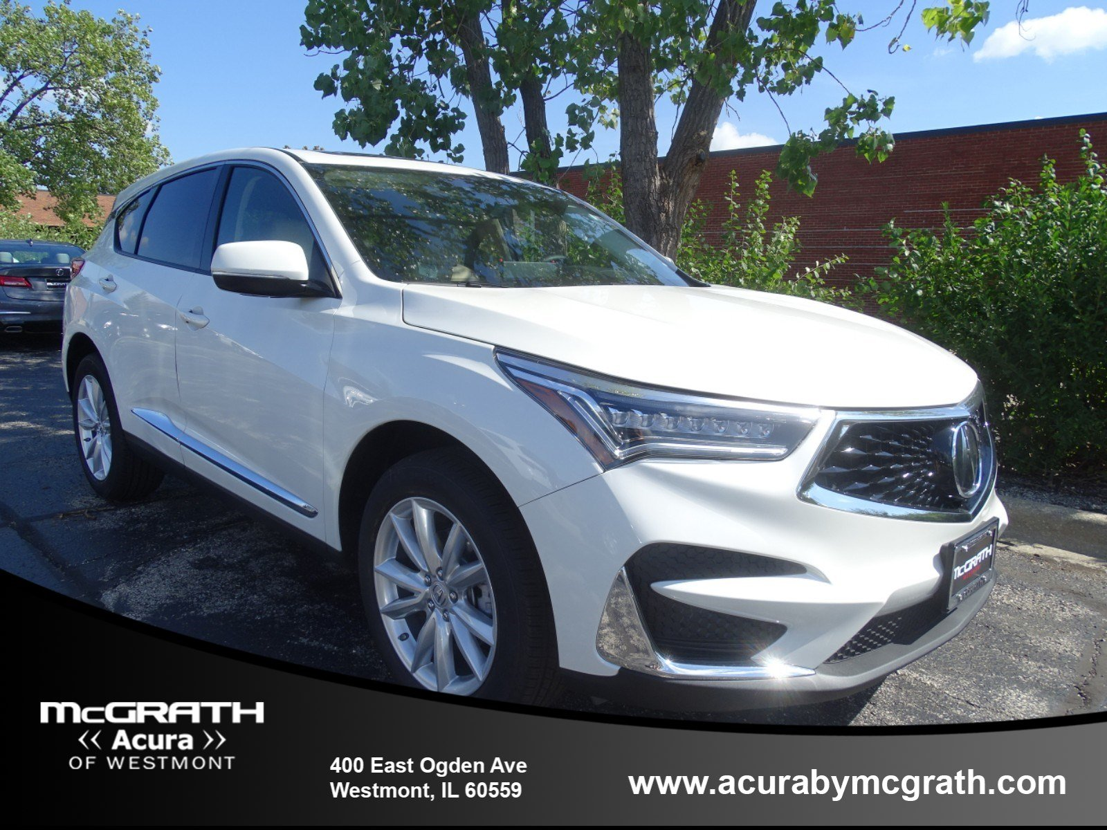 New 2019 Acura Rdx Base Sport Utility In Westmont W8102 Mcgrath