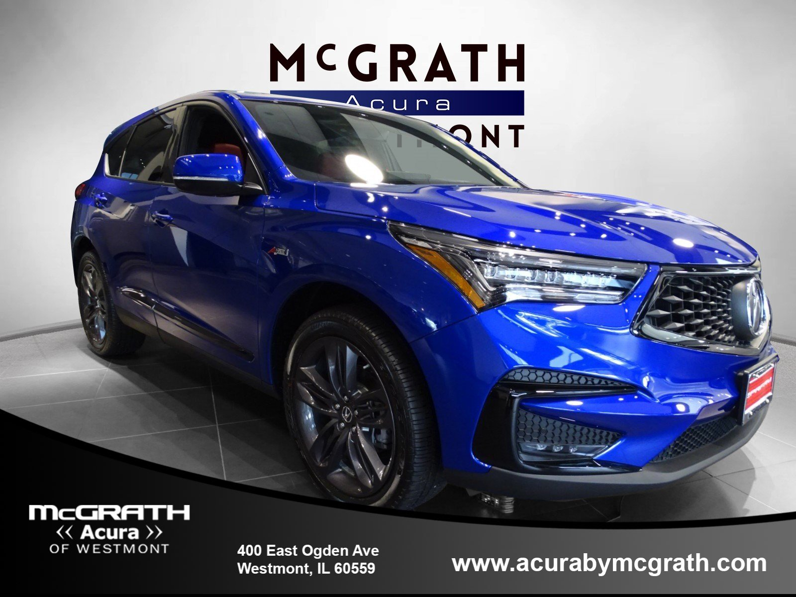 New 2019 Acura Rdx A Spec Sport Utility In Westmont W7806 Mcgrath