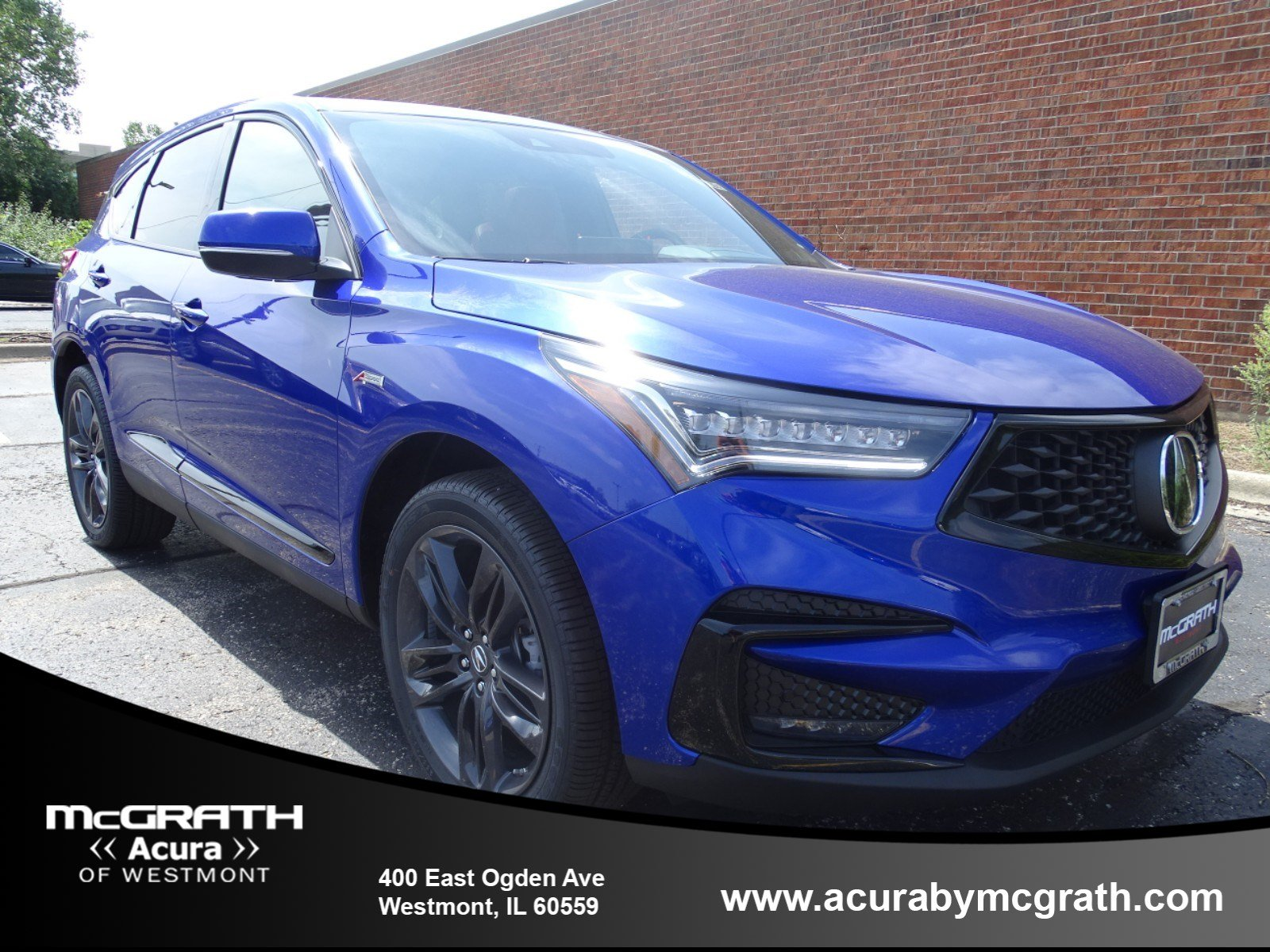 New 2019 Acura Rdx A Spec Sport Utility In Westmont W8042 Mcgrath