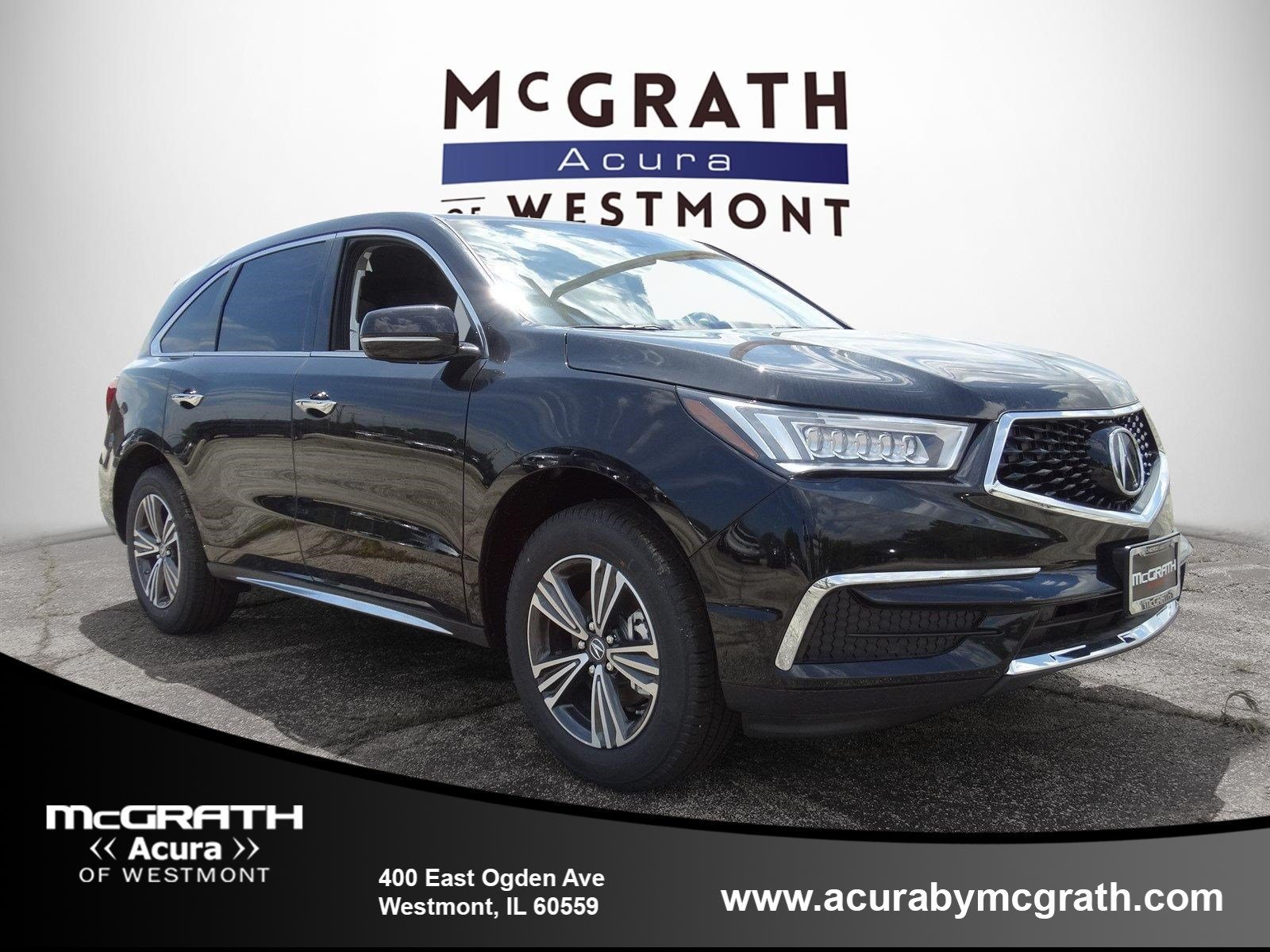 New 2018 Acura MDX Base Sport Utility in Westmont #V7636 | McGrath Acura Westmont on