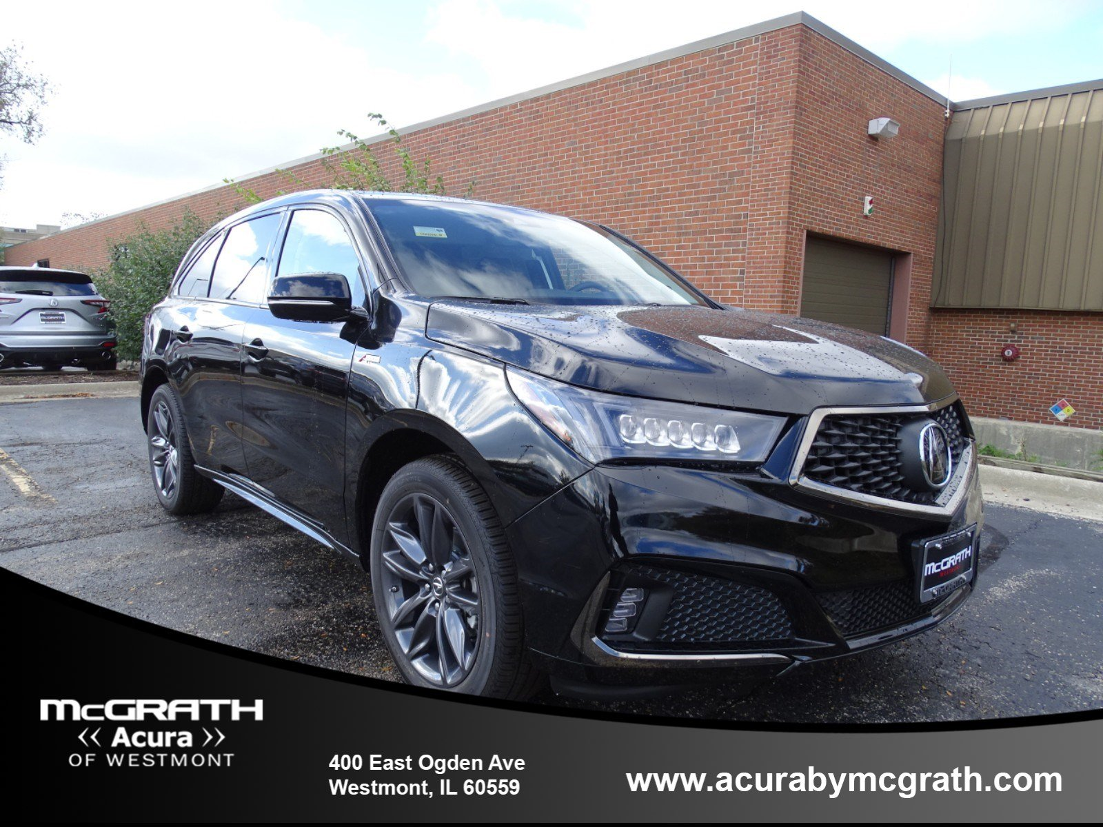 New 2019 Acura MDX SH AWD with A Spec Package Sport Utility in