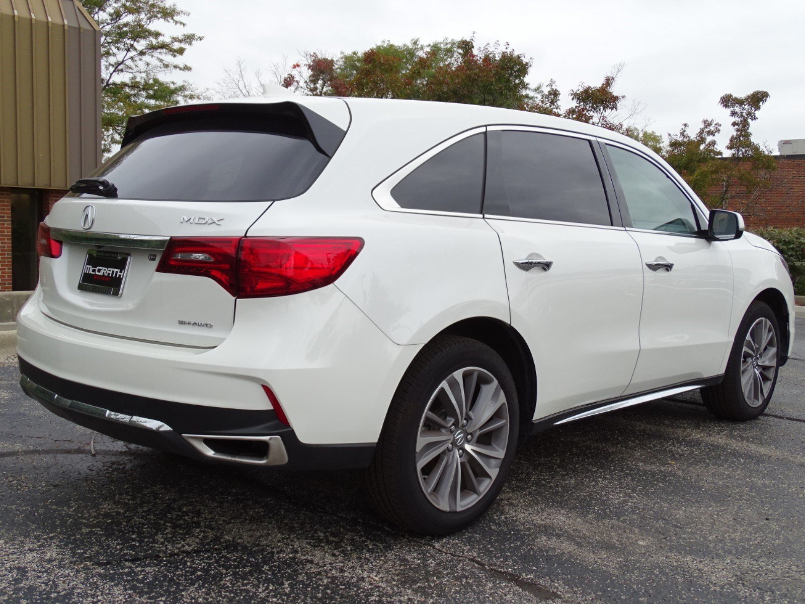 New 2018 Acura Mdx Sh Awd With Technology Package Sport Utility In Westmont V7471 Mcgrath Of