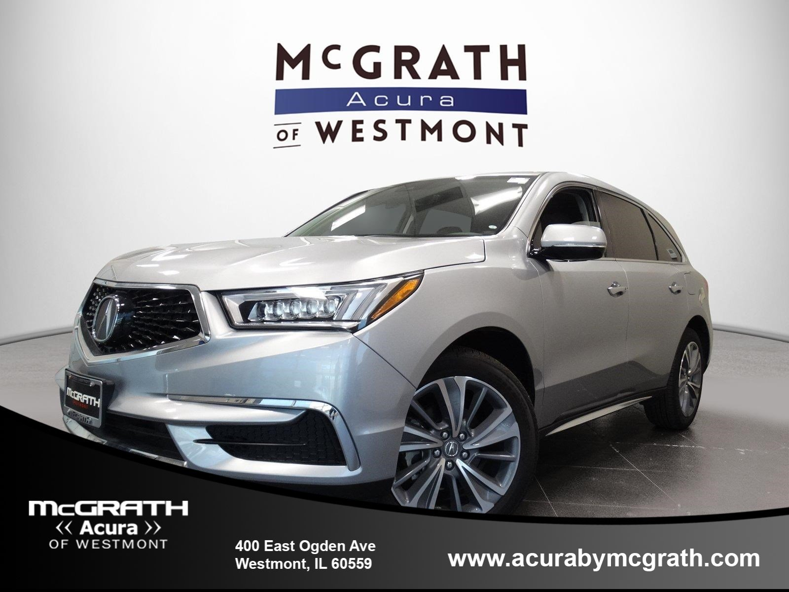 New 2018 Acura MDX SH AWD with Technology Package Sport Utility in