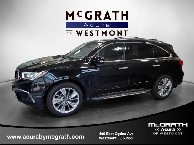 Certified Pre-Owned 2018 Acura MDX SH-AWD with Technology Package