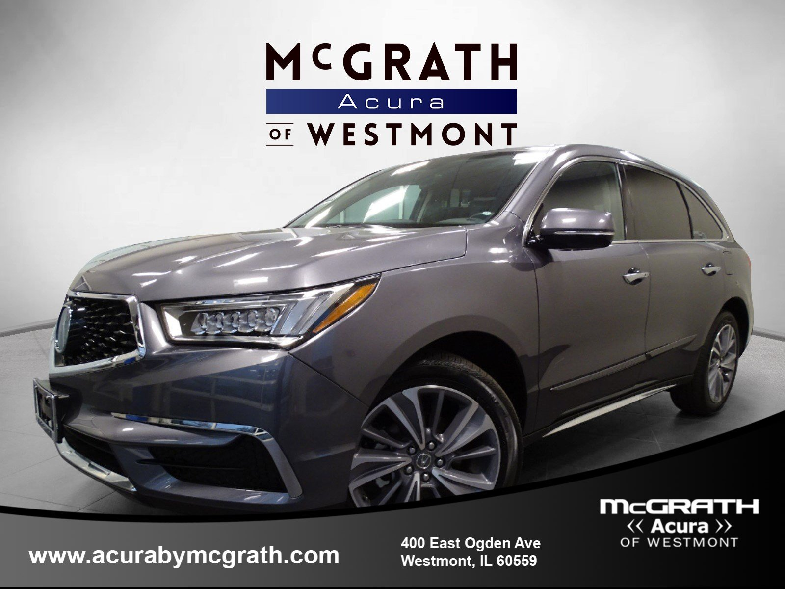 Certified Pre Owned 2017 Acura MDX w Technology Entertainment Pkg