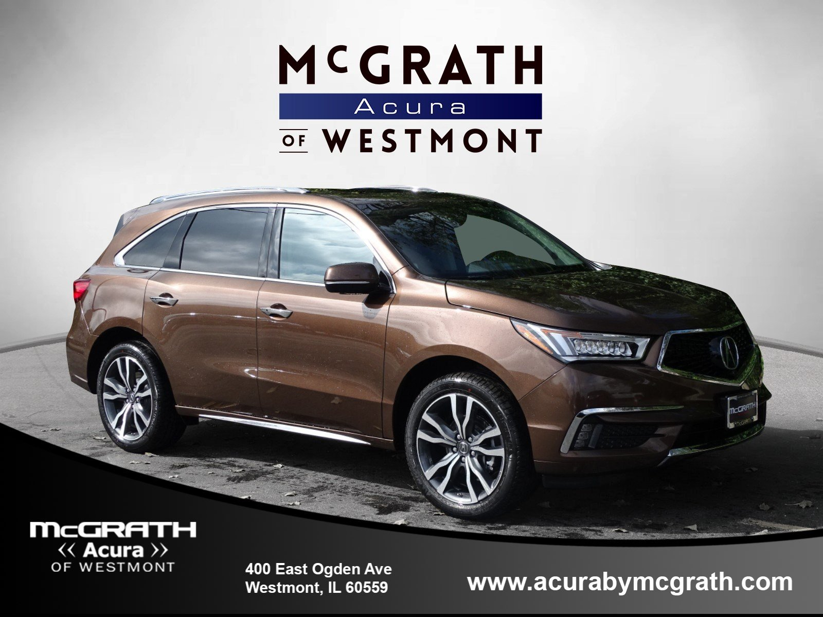 New 2019 Acura MDX AWD ADVANCE 6P Sport Utility in Westmont W8192