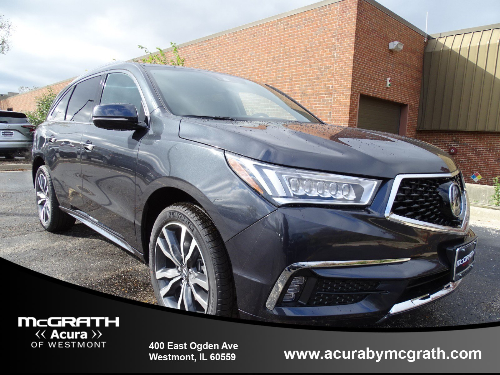 New 2019 Acura MDX SH AWD with Advance Package Sport Utility in