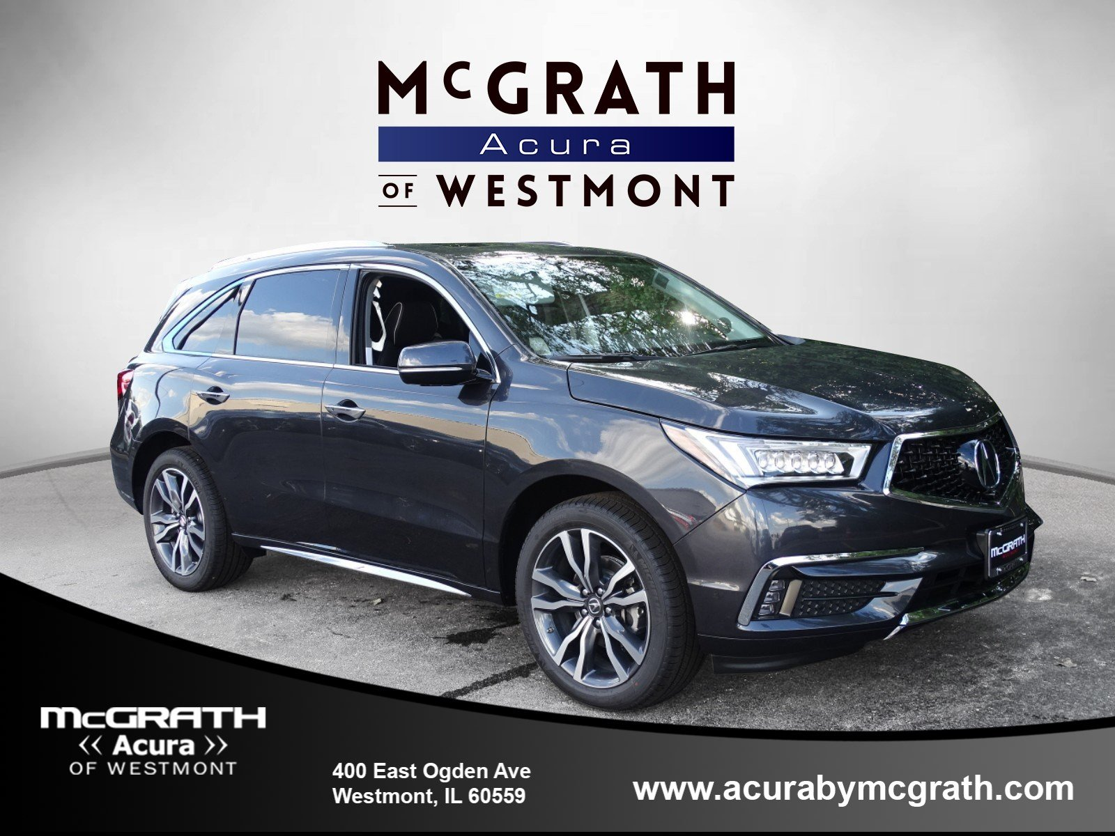 New 2019 Acura MDX AWD ADVANCE 6P Sport Utility in Westmont W8106
