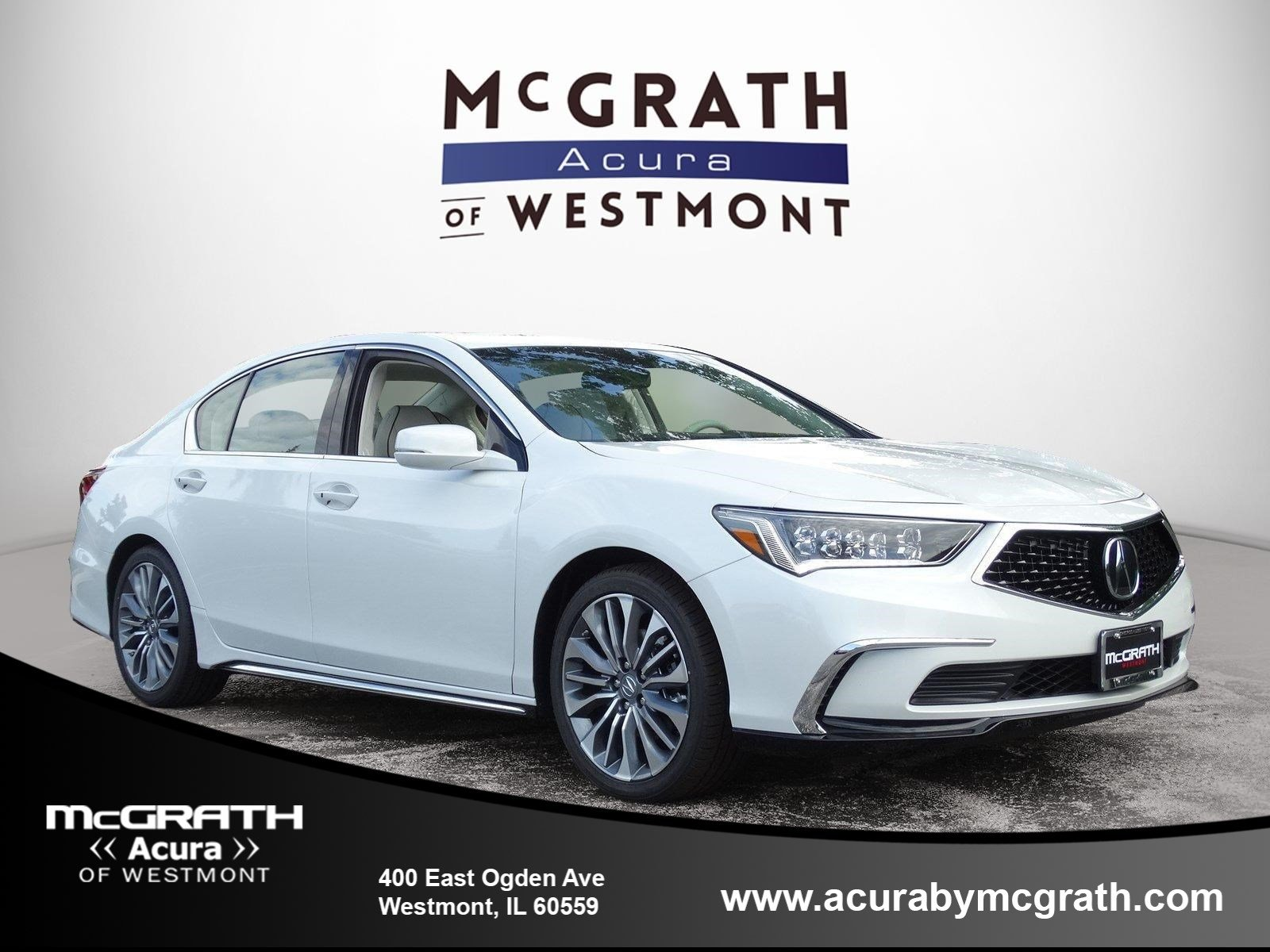 New 2018 Acura RLX with Technology Package 4dr Car in Westmont