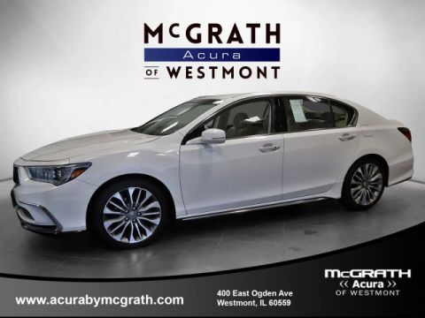 Pre-Owned 2018 Acura RLX w/Technology Pkg
